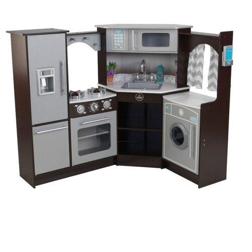 Фото - Кухня KidKraft 53365 серый/черный деревянная кухня kidkraft uptown espresso 53260 ke