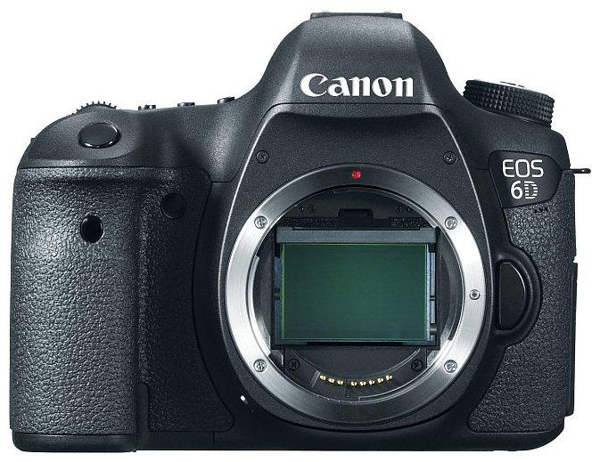 Canon Зеркальный фотоаппарат Canon EOS 6D Body