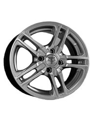 RS Wheels TI04 5,5x0 4x98 ET 29 Dia 58,6 (графит) - фото 1