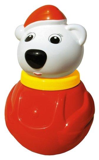 Неваляшка Стеллар Белый Медведь-2, упаковка коробка (01614) 18 см