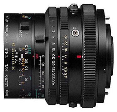 Объектив Mamiya M 140mm f/4.5 M/L-A Macro RZ65