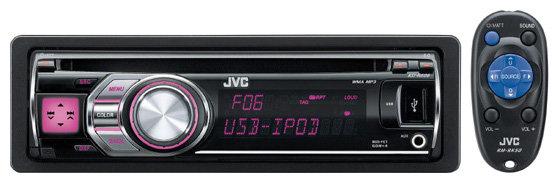 Автомагнитола JVC KD-R606