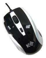 Мышь k-3 Zebra6 Black-Silver USB