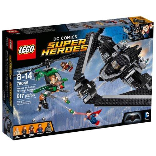 Конструктор LEGO DC Super Heroes 76046 Герои правосудия: битва в небе