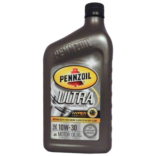 Фото - Моторное масло Pennzoil Ultra Class Synthetic SAE 10W-30 0.946 л моторное масло pennzoil gold synthetic blend sae 5w 30 0 946 л
