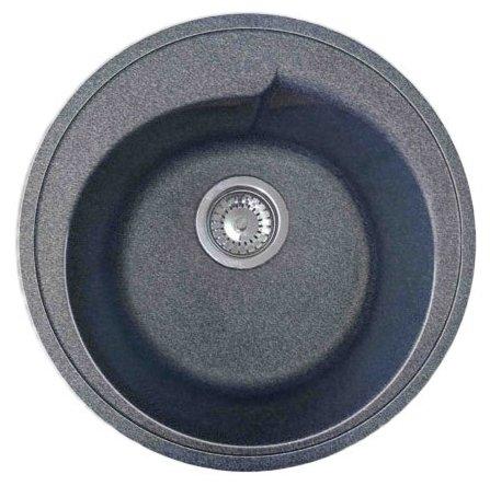 Врезная кухонная мойка GranFest Rondo GF-R450 45х45см искусственный мрамор