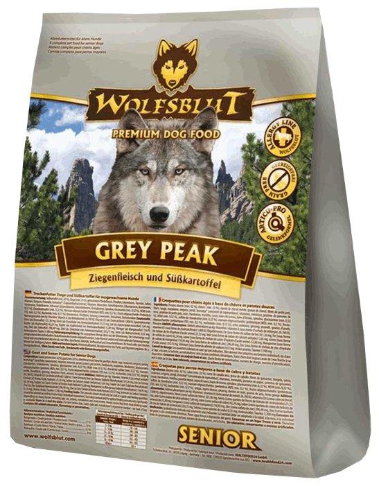 Корм для собак Wolfsblut Grey Peak Senior (15 кг)