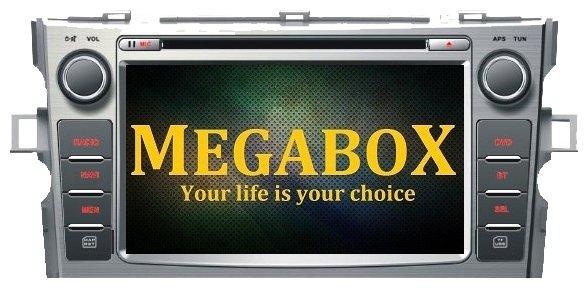 Автомагнитола Megabox Toyota Verso CE6614