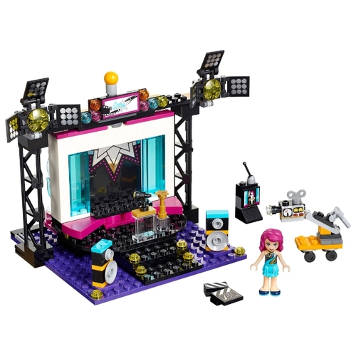 Конструктор LEGO Friends 41117 Телестудия поп-звезды