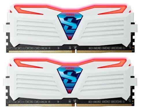 GeIL Оперативная память GeIL SUPER LUCE RED GLWR416GB2400C16DC