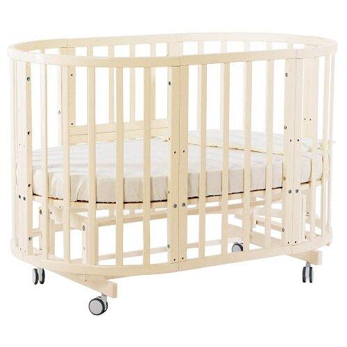 Купить Кроватка Nuovita Nido Magia 5 в 1 (трансформер), поперечный маятник слоновая кость, Кроватки