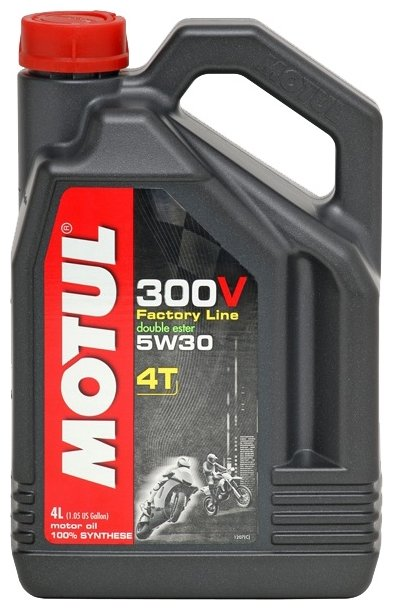 Моторное масло Motul 300V Factory Line Road Racing 5W30 4 л
