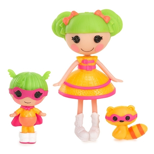 Набор кукол Lalaloopsy Mini Супергерой с сестрёнкой 8 см 534099