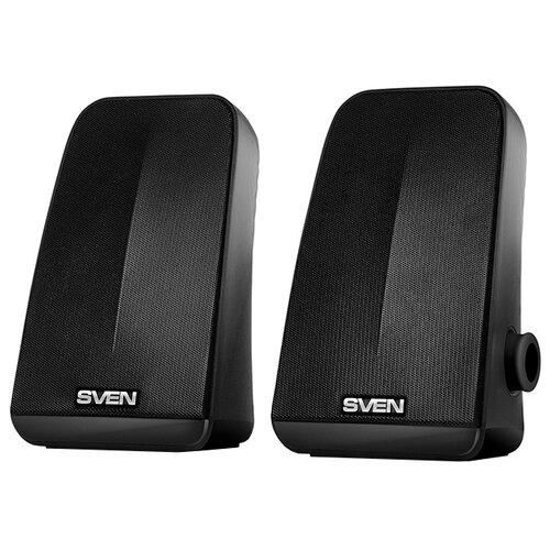 Компьютерная акустика SVEN 380 черный компьютерная акустика sven 120 черный