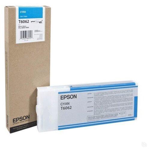 Фото - Картридж Epson C13T606200 epson c13t606200 cyan 220 мл c13t606200