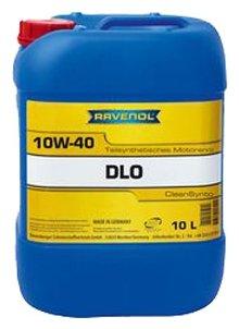 Моторное масло Ravenol DLO SAE 10W-40 10 л