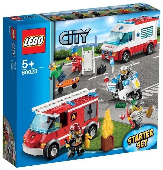 Классический конструктор LEGO City 60023 Набор для начинающих LEGO CITY