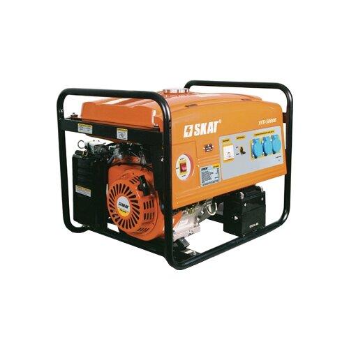 Бензиновый генератор SKAT УГБ-5000Е (5000 Вт)
