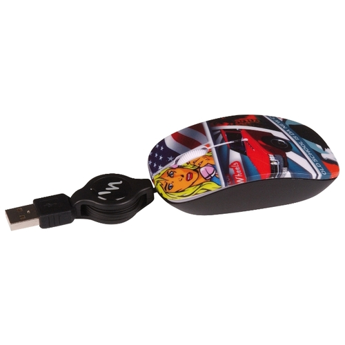 Мышь T'nB GUPPY VIP Hot Wheels Black USB