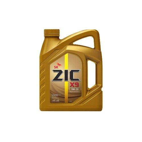 Фото - Синтетическое моторное масло ZIC X9 5W-30 4 л моторное масло zic x9 ls 5w 30 4 л