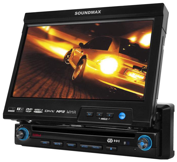 Автомагнитола SoundMAX SM-CMMD7000