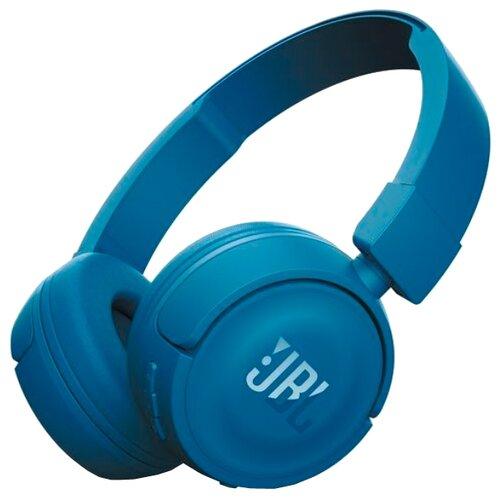 цена на Беспроводные наушники JBL T450BT синий