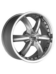 Диск Antera 389 9,5x20/5x120 ЕТ40 D74,1 Racing Black Lip Polished - фото 1