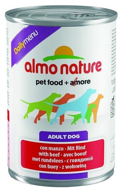 Корм для собак Almo Nature Daily Menu говядина
