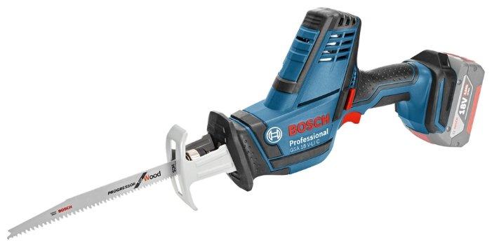 Bosch GSA 18 V-LI C 4.0Ah x2 L-BOXX