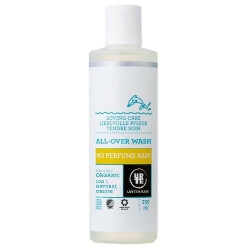 Urtekram Детский шампунь-гель для мытья волос и тела, без аромата 250 мл urtekram лосьон для тела кокос 245 мл urtekram для тела