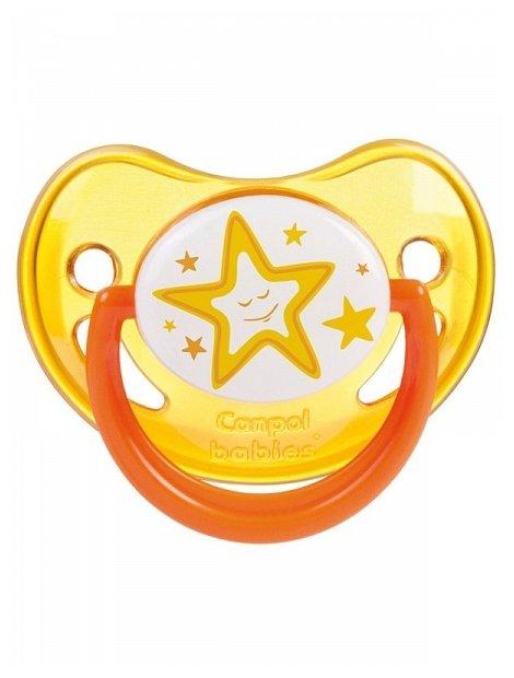 Пустышка силиконовая ортодонтическая Canpol Babies Night Dreams 6-18 м (1 шт.)