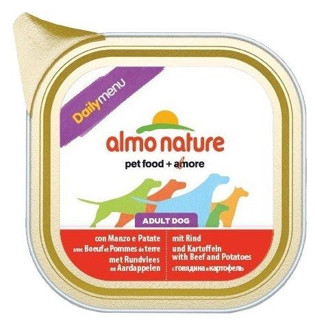 Корм для собак Almo Nature Daily Menu говядина с картофелем 100г