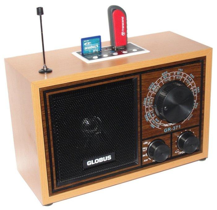 Радиоприемник Globus GR-371