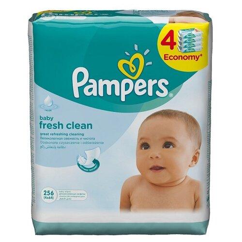 Купить Влажные салфетки Pampers Baby Fresh Clean 256 шт.