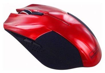 Мышь CBR CM 378 Red-Black USB
