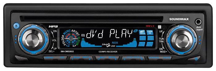 Автомагнитола SoundMAX SM-CMD2022 (2007)