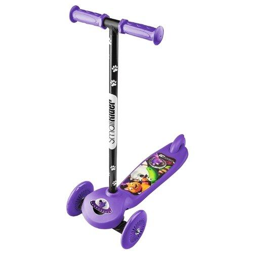 Кикборд Small Rider Cosmic Zoo Scooter фиолетовый