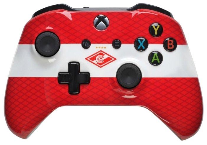 Microsoft Геймпад Microsoft Xbox One Wireless Controller FC Spartak