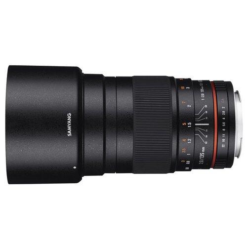 Фото - Объектив Samyang 135mm f/2 ED UMC Nikon F объектив samyang 85mm f 1 8 ed umc cs fujifilm x