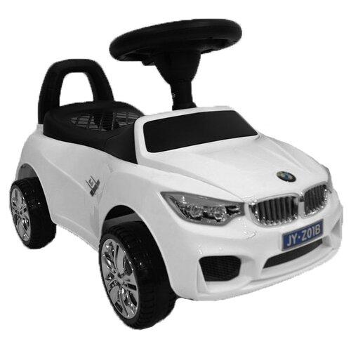 Купить Каталка-толокар RiverToys BMW JY-Z01B со звуковыми эффектами белый, Каталки и качалки
