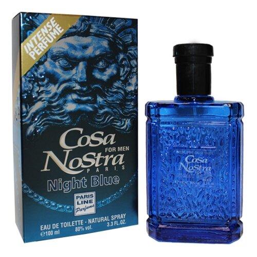 Туалетная вода Paris Line Parfums Cosa Nostra Night Blue, 100 мл туалетная вода apple parfums couture chiffon 50 мл