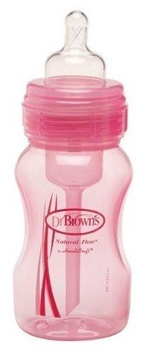 Dr. Brown's Бутылочка полипропиленовая с широким горлом, 240 мл с рождения