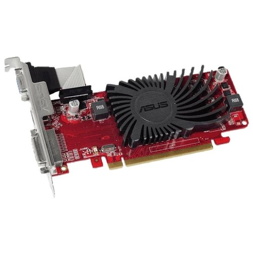 Видеокарта ASUS Radeon R5 230 650MHz PCI-E 2.1 2048MB 1200MHz 64 bit DVI HDMI HDCP Retail