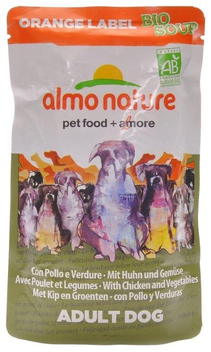 Корм для собак Almo Nature Orange Label курица с овощами 12шт. х 140г