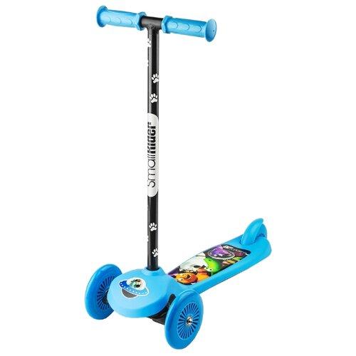 Кикборд Small Rider Cosmic Zoo Scooter голубой