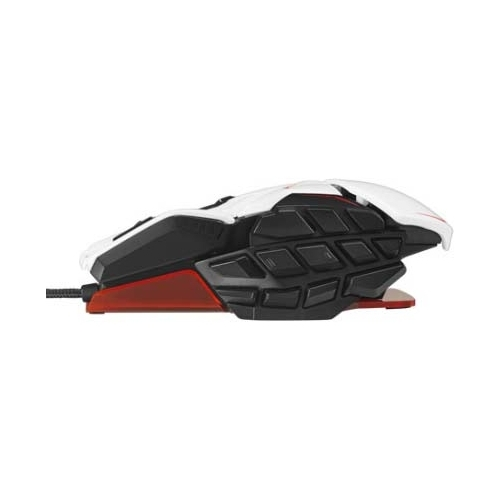 Мышь Mad Catz M.M.O. TE Gaming Mouse White USB