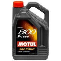 Моторное масло Motul 8100 X-cess 5W40 5л (102870)
