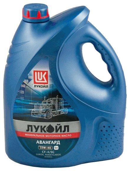 Масло моторное ЛУКОЙЛ авангард 15w40 CF-4/SG (5л) Минеральное