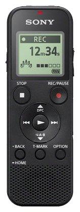 Диктофон SONY ICD-PX370 4 Gb, черный [icdpx370.ce7]