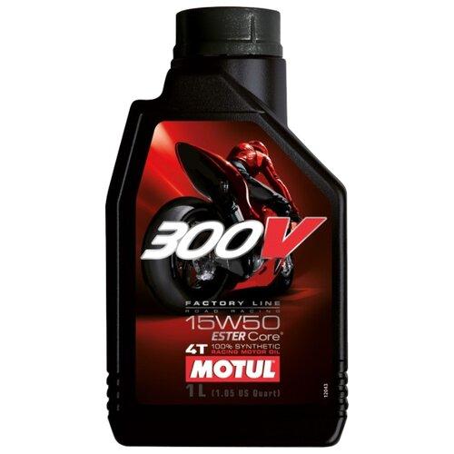 Фото - Синтетическое моторное масло Motul 300V Factory Line Road Racing 15W50 1 л моторное масло motul 300v 4t fl road racing 5w 40 1 л